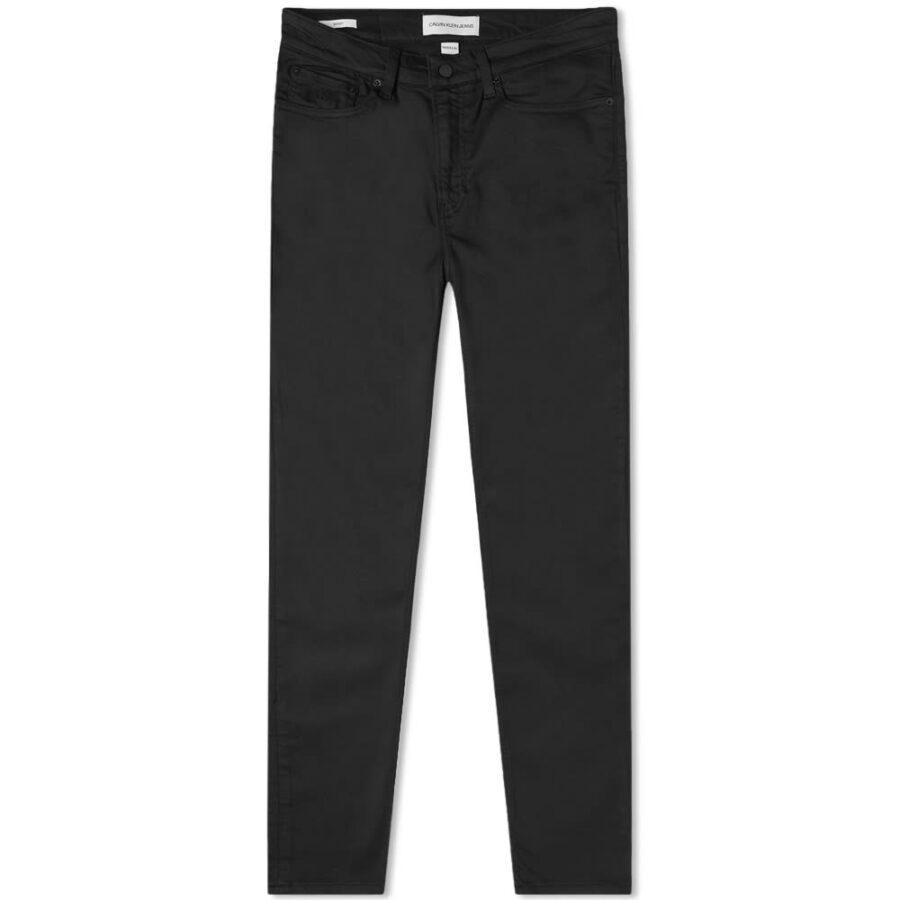 Calvin Klein CK016 Skinny Jeans 'Washed Black'