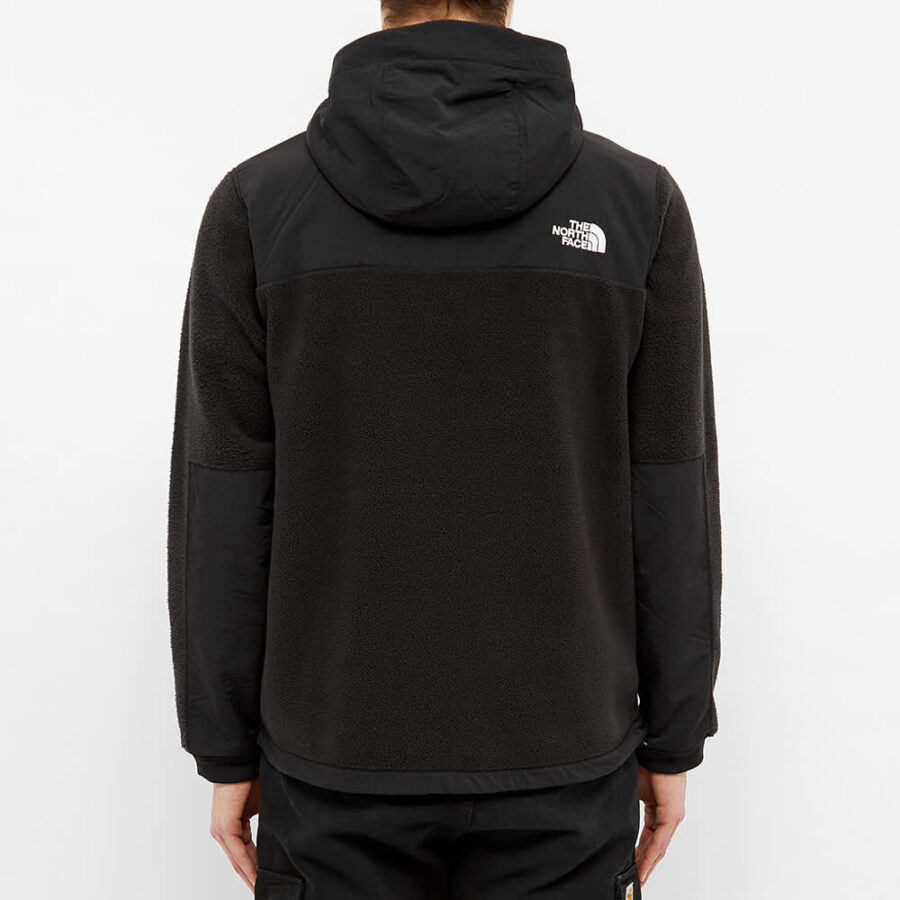 The North Face Denali Hooded Fleece Jacket 'Black'