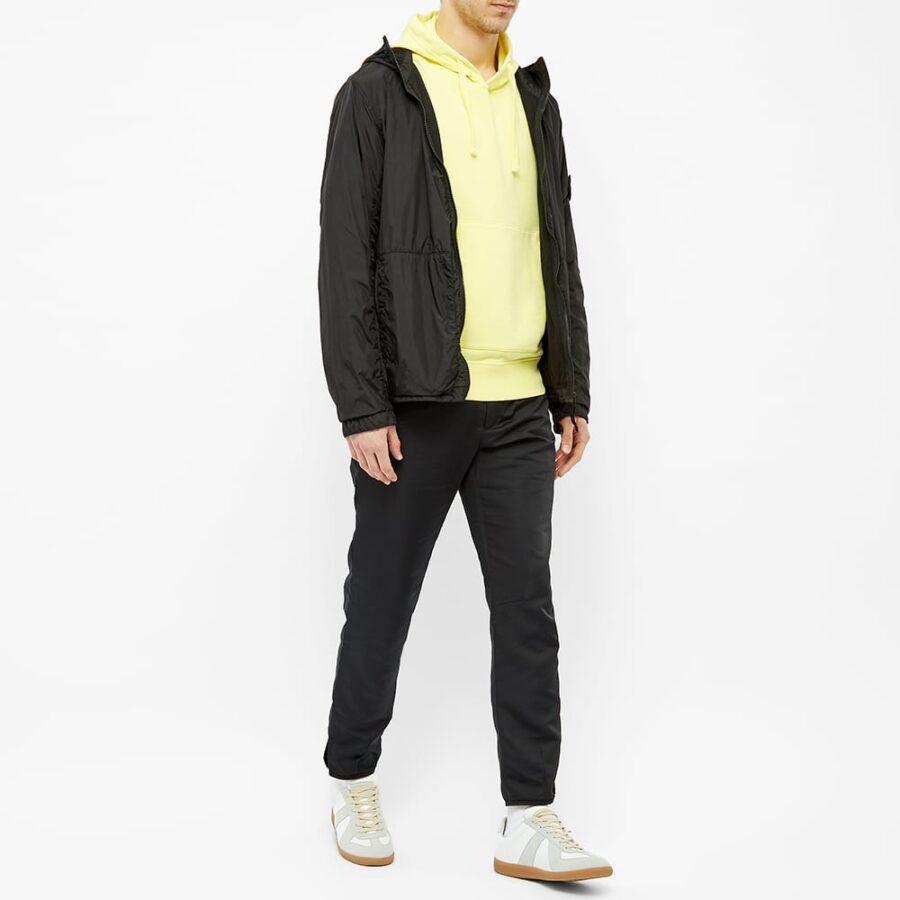 Stone Island Garment Dyed Hoodie 'Lemon'
