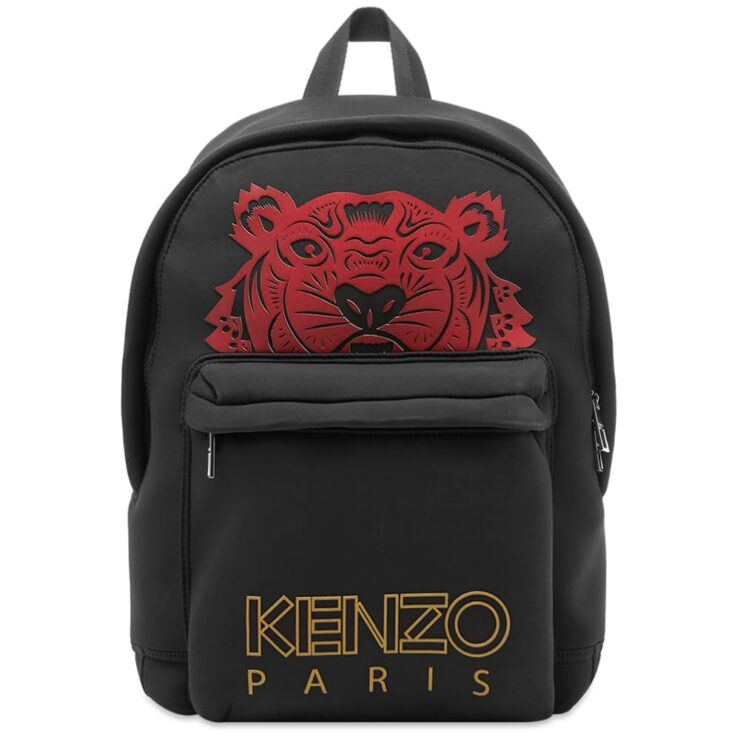 Kenzo Red Tiger Backpack 'Black'