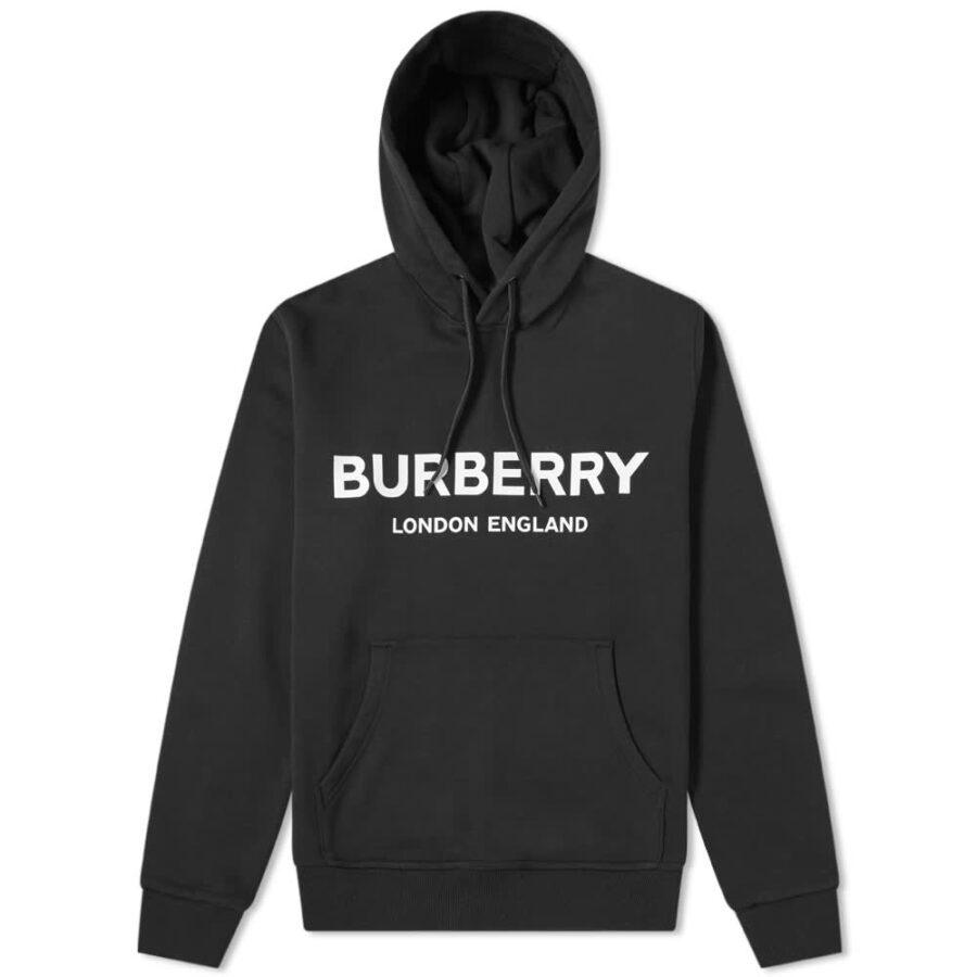 Burberry Lexstone Logo Hoodie 'Black'