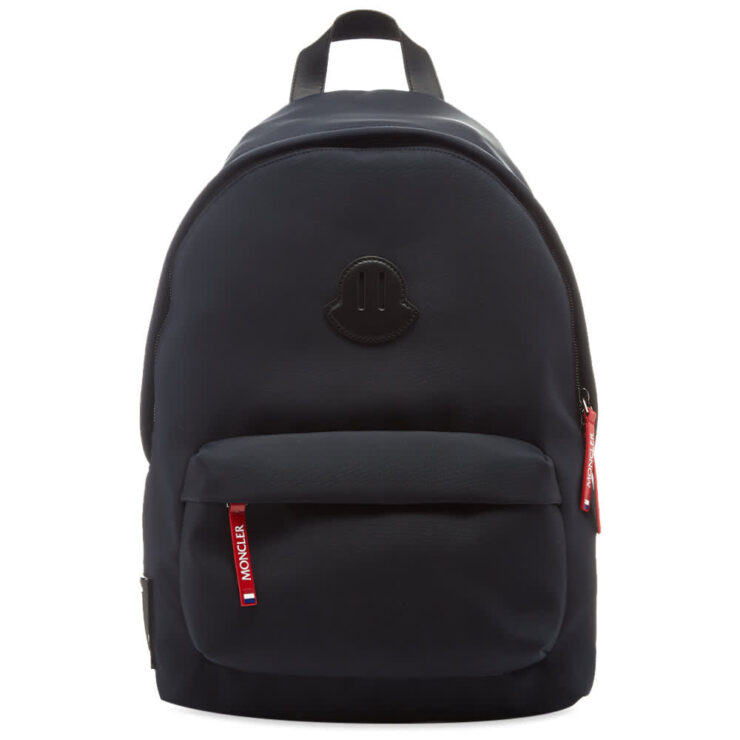 Moncler Pierrick Logo Backpack 'Navy'