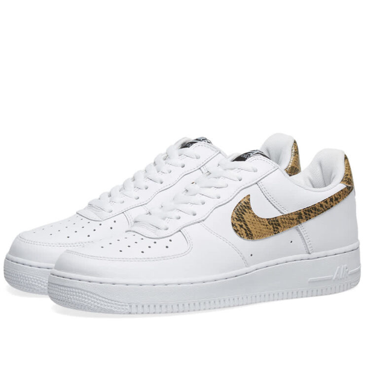 Nike Air Force 1 Low Retro 'White & Ivory Snake'