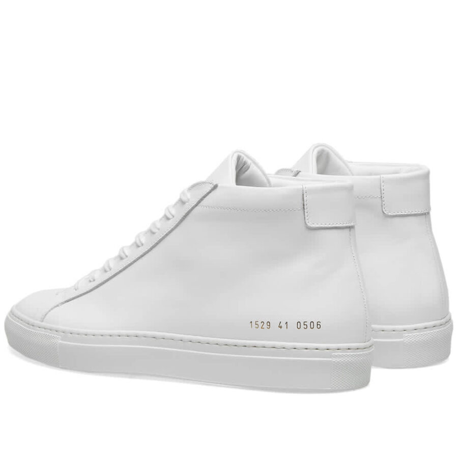 Common Projects Achilles Mid Sneakers 'White'