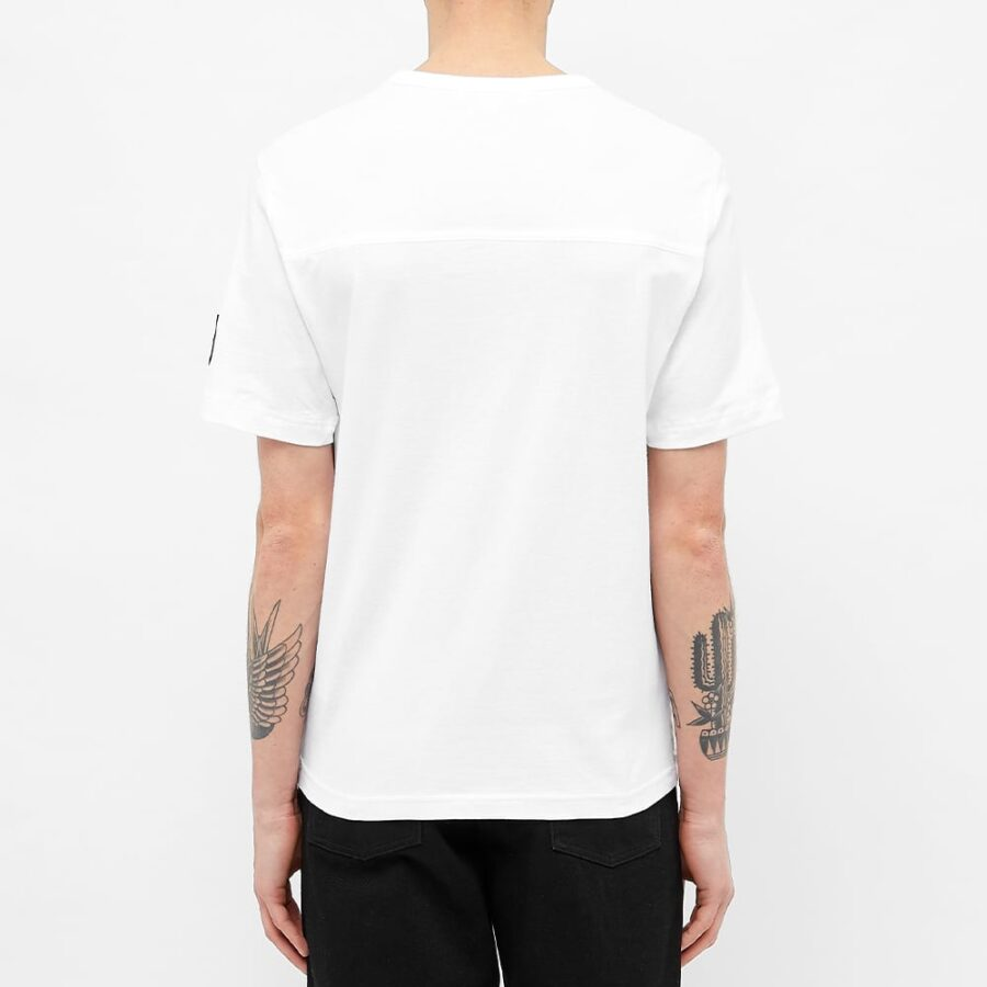 Calvin Klein Monogram Sleeve Badge T-Shirt 'White'