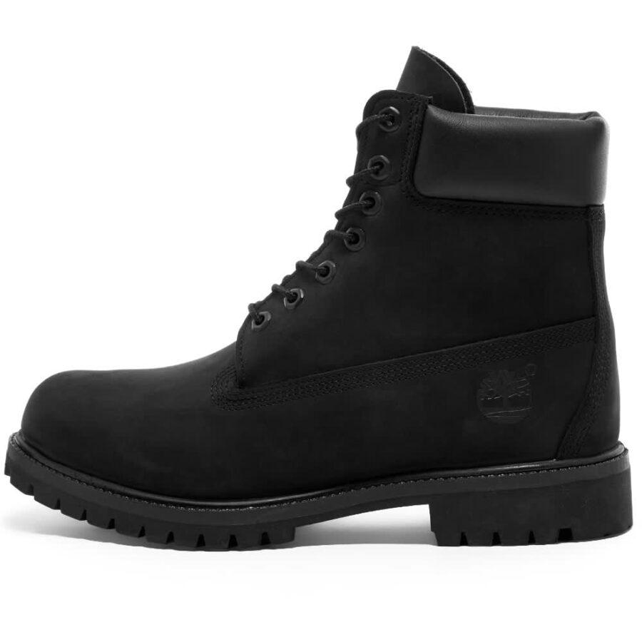 Timberland Premium 6 Inch Boots 'Black Nubuck'