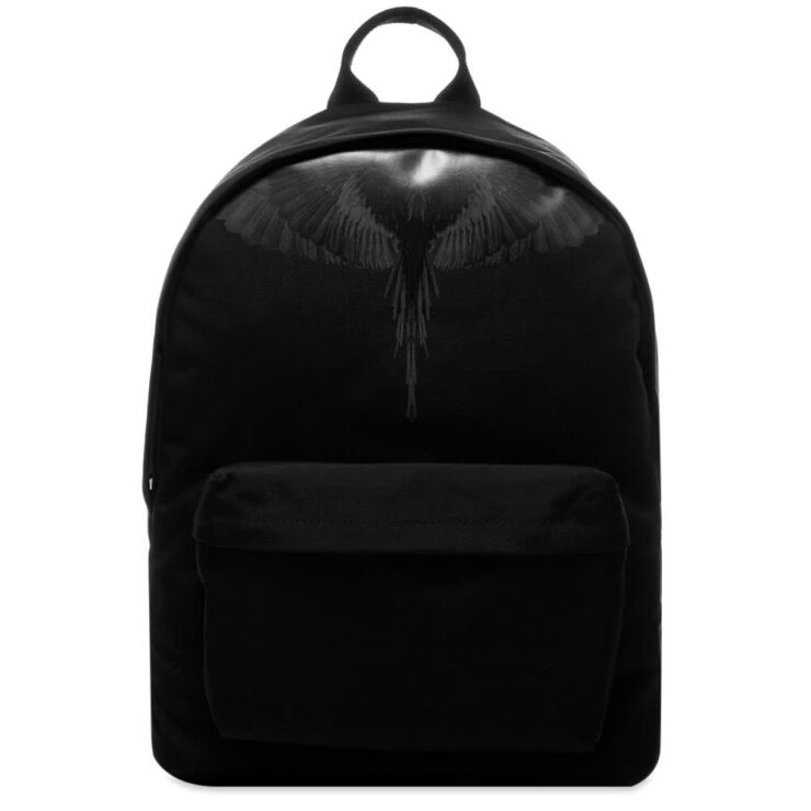 Marcelo Burlon Black Wings Backpack 'Black'