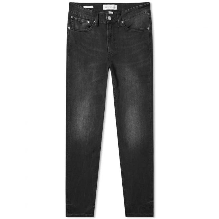 Calvin Klein CK016 Skinny Jeans 'Black'