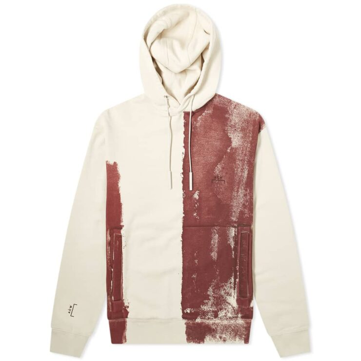 A-Cold-Wall* Block Paint Hoody 'Almond Milk'