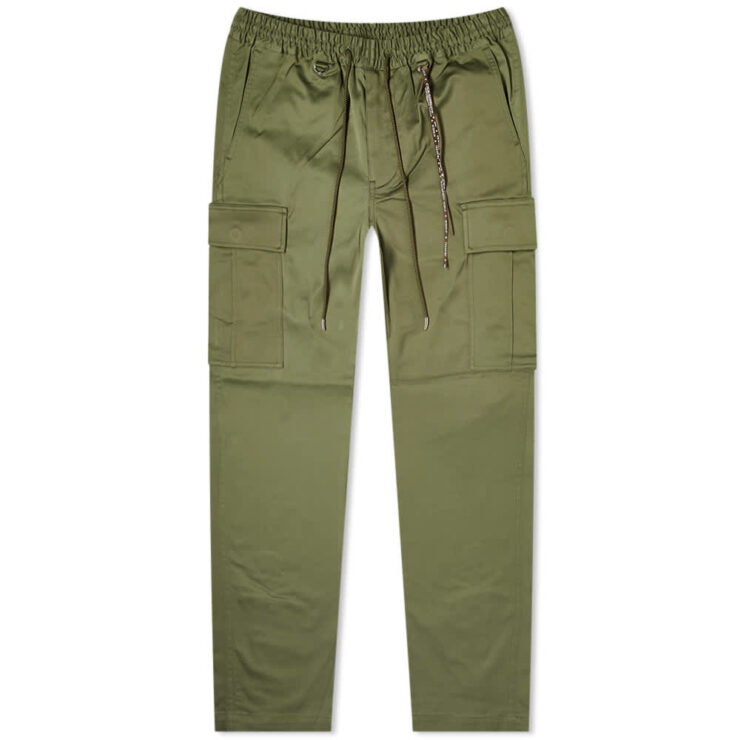 Mastermind Embroidered Skull Cargo Pants 'Khaki'