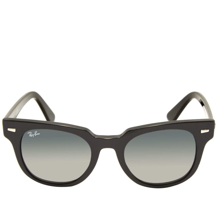 Ray-Ban Meteor Sunglasses 'Black & Green'