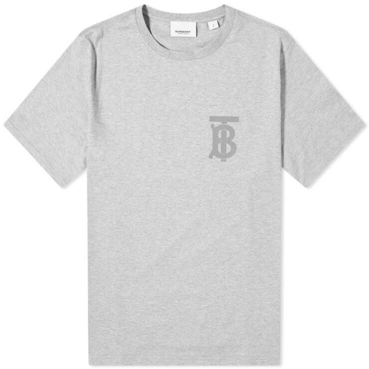 Burberry Emerson Logo T-Shirt 'Grey'
