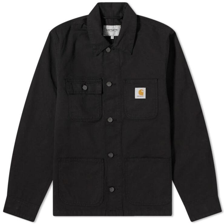 Carhartt WIP Michingan Chore Overshirt Coat 'Black'