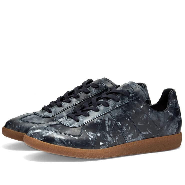 Maison Margiela 22 Replica Painter Sneakers 'Navy'