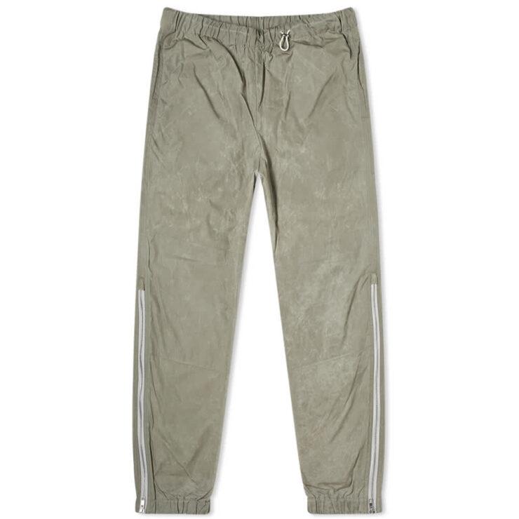 Kenzo Nylon Zipped Trackpants 'Taupe'