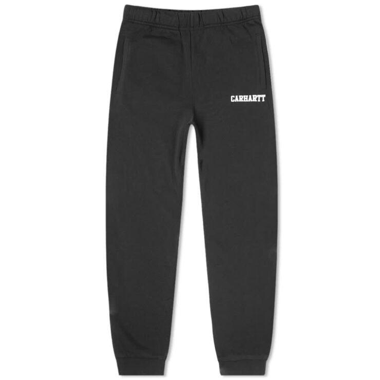 Carhartt WIP College Sweatpants 'Black'