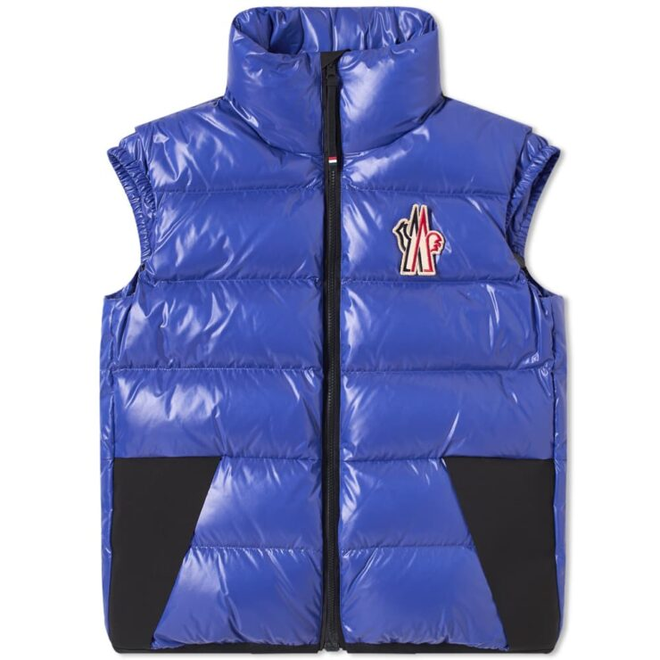 Moncler Grenoble Egginer Gilet 'Royal Blue'