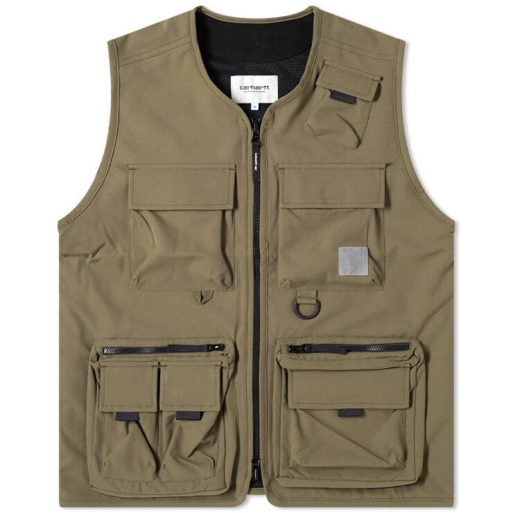 Carhartt WIP Elmwood Vest 'Moor'