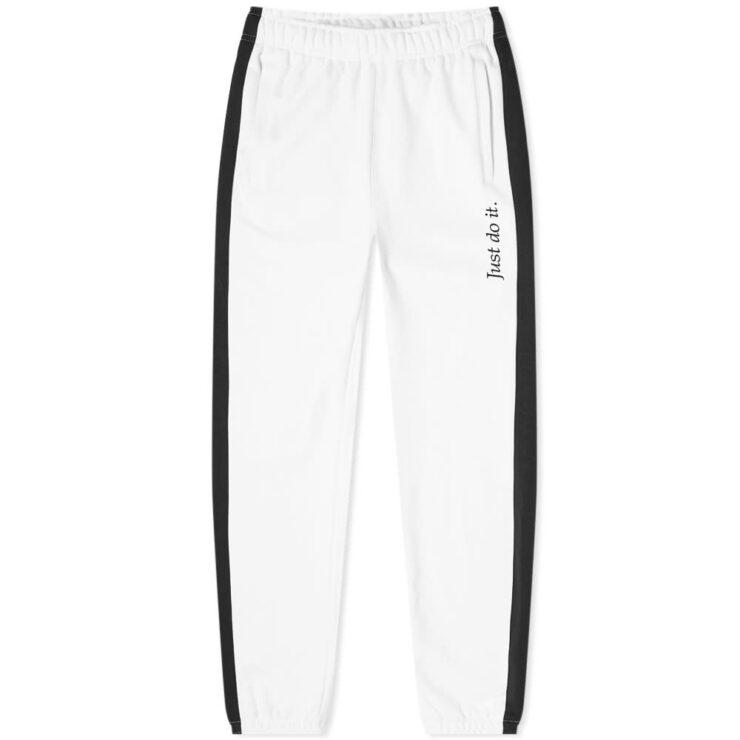 Nike JDI Heavyweight Sweatpants 'White & Black'