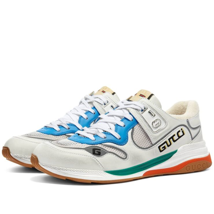 Gucci G-Line Ultrapace Runner Sneakers 'White'