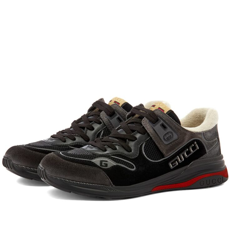 Gucci G-Line Ultrapace Runner Sneakers 'Black'
