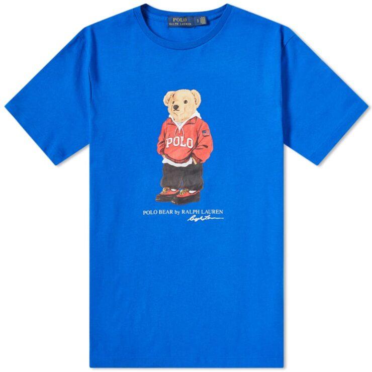 Polo Ralph Lauren Streetwear Bear T-Shirt 'Blue'