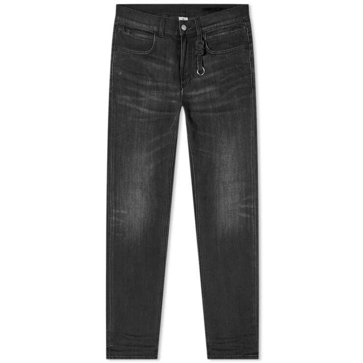 1017 ALYX 9SM Nylon Buckle Jeans 'Black'