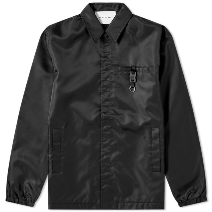1017 ALYX 9SM Buckle Coach Jacket 'Black'