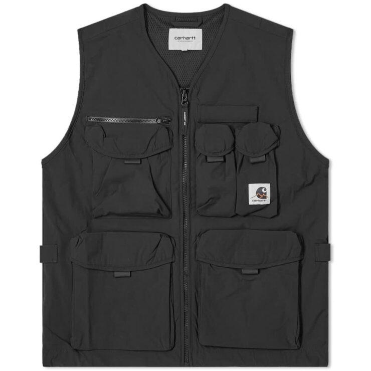 Carhartt WIP Hayes Vest 'Black'