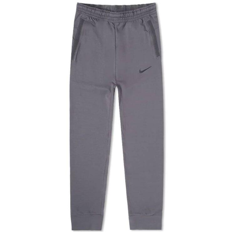 Nike Tech Pack Knit Sweatpants 'Grey & Black'