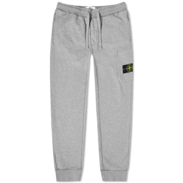Stone Island Garment Dyed Sweatpants 'Grey'