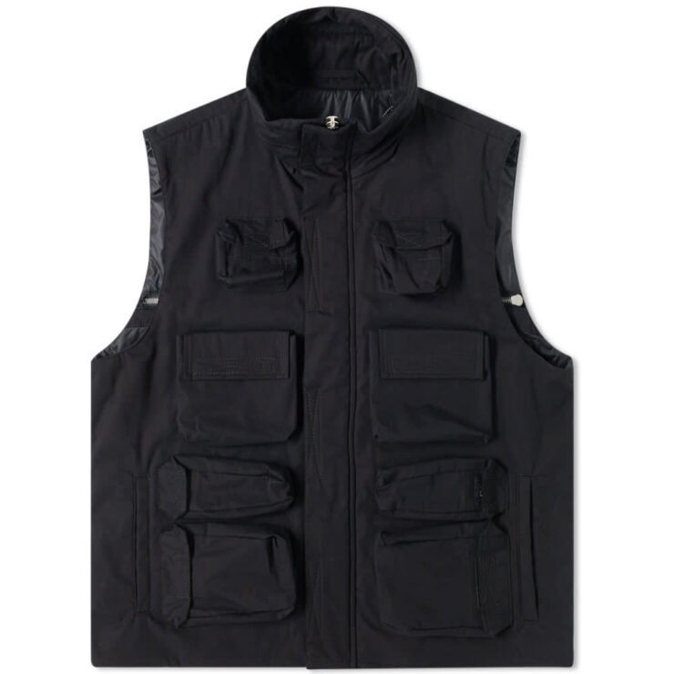 Unravel Project Multi Pocket Tech Vest 'Black'