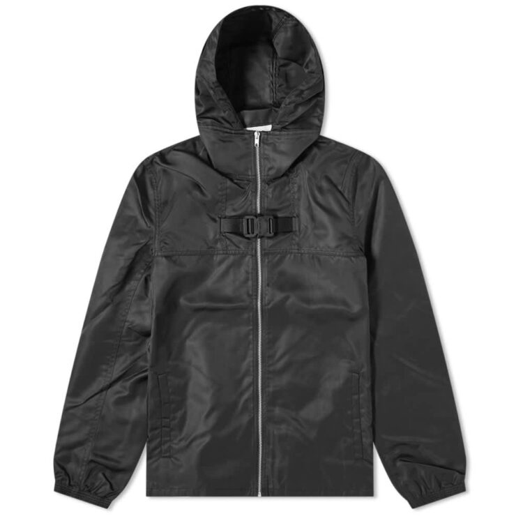 1017 ALYX 9SM Zip-Up Buckle Windbreaker 'Black'