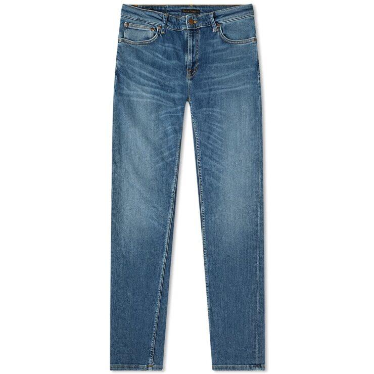 Nudie Skinny Lin Jeans 'Dark Blue'