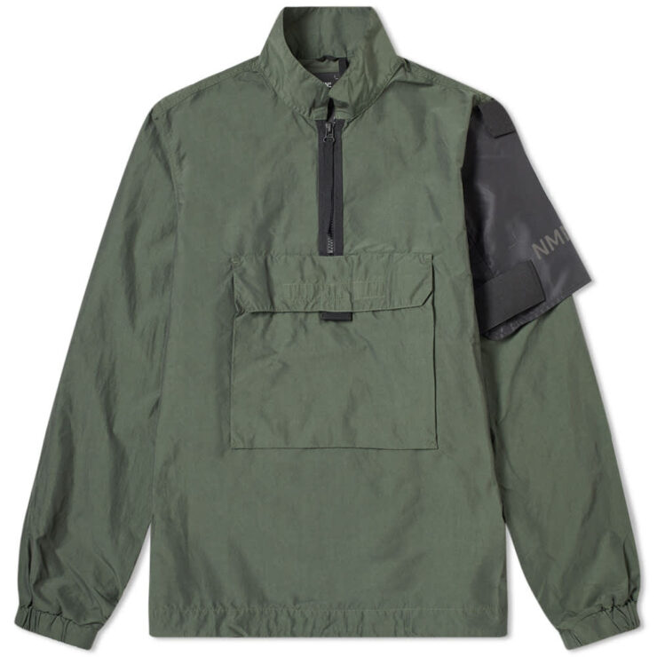 Nemen Duster Windbreaker Jacket 'Olive'