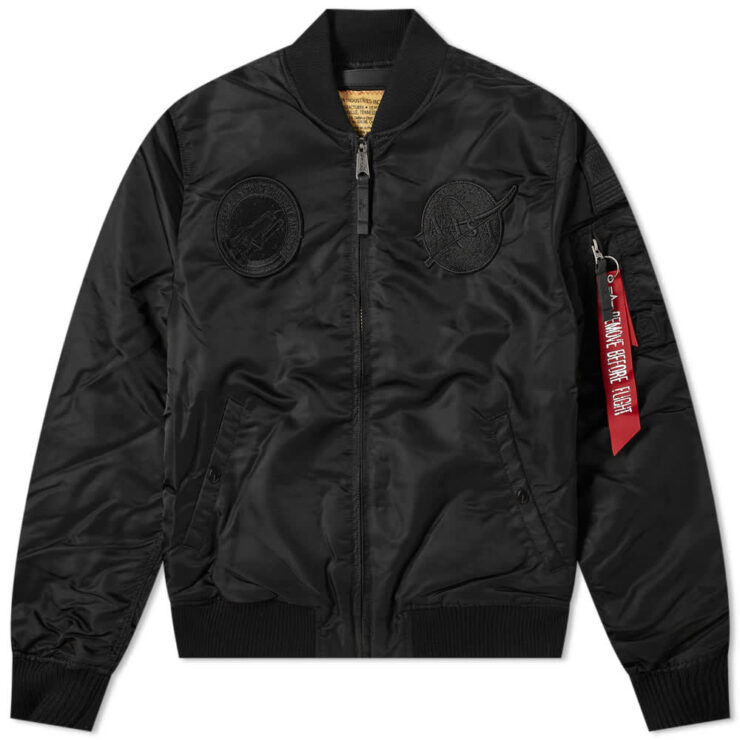 Alpha Industries MA-1 VF Nasa Jacket 'Black'