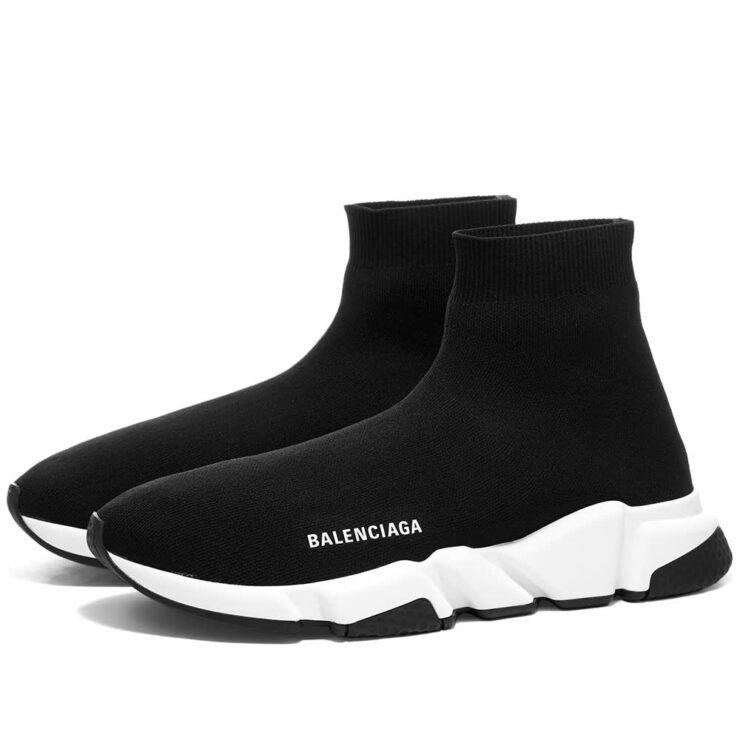 Balenciaga Speed Runner Sneakers 'Black & White'