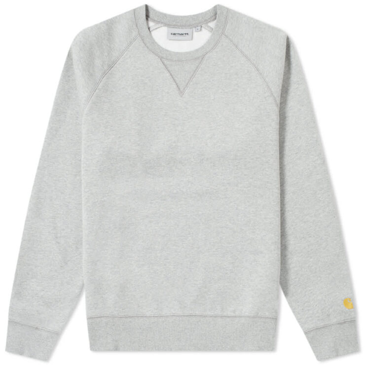 Carhartt WIP Chase Sweatshirt 'Grey & Gold'