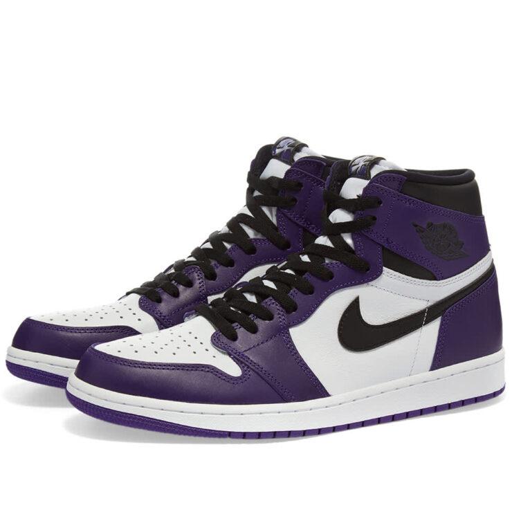 Air Jordan 1 High OG 'Purple & White'