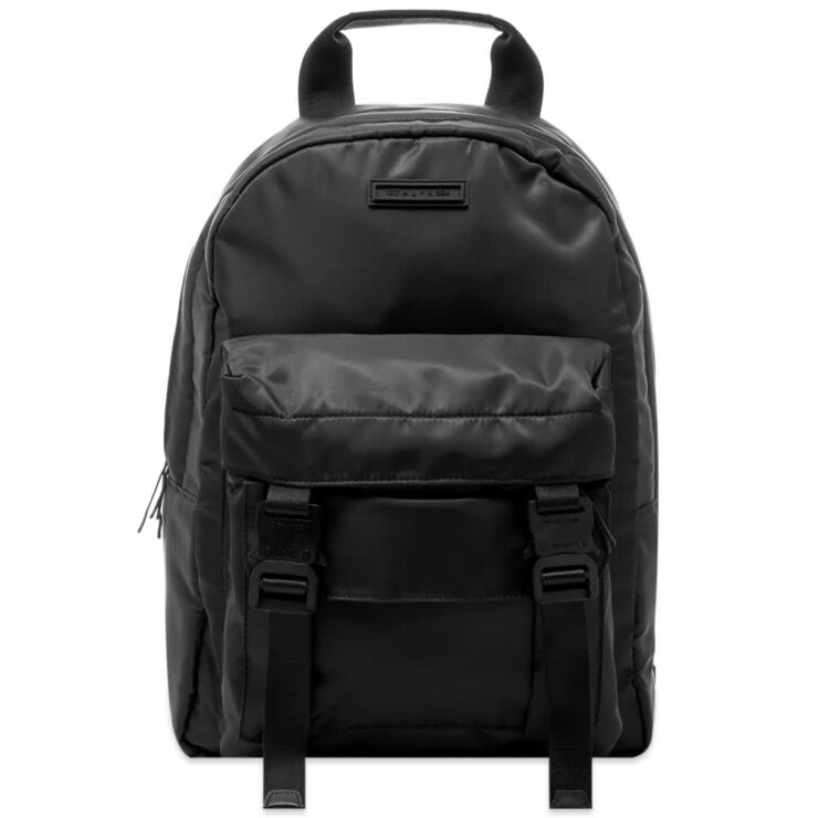 1017 ALYX 9SM Double Front Pocket Backpack 'Black'