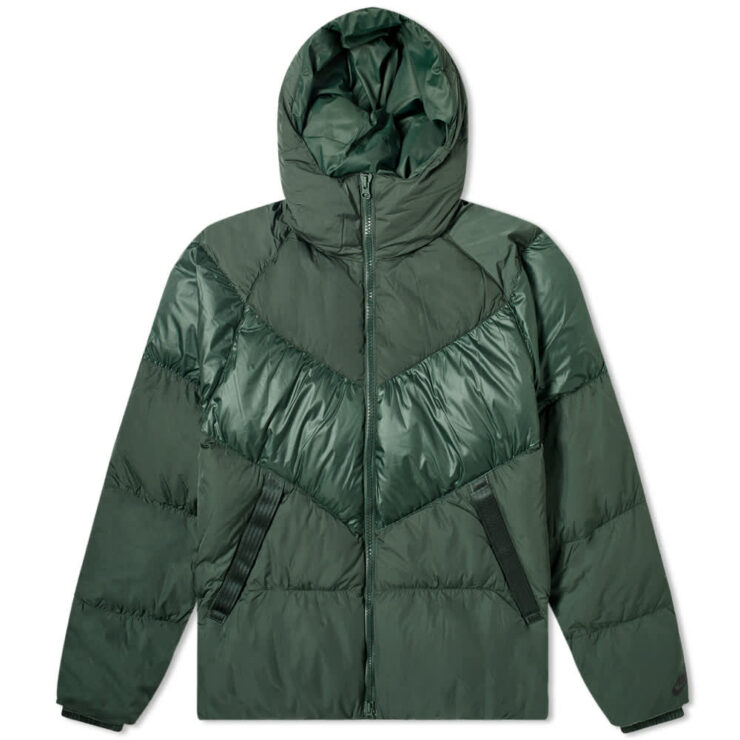 Nike Hooded Down-Fill Puffer Jacket 'Green'