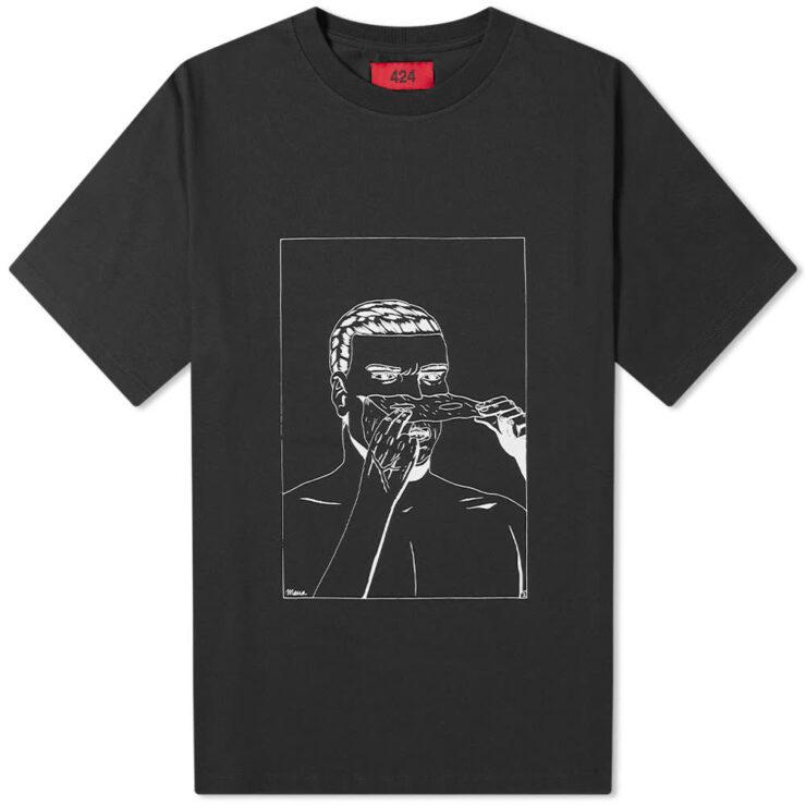 424 Face Off Comics T-Shirt 'Black'