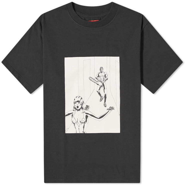 424 Hallway Comics T-Shirt 'Black'