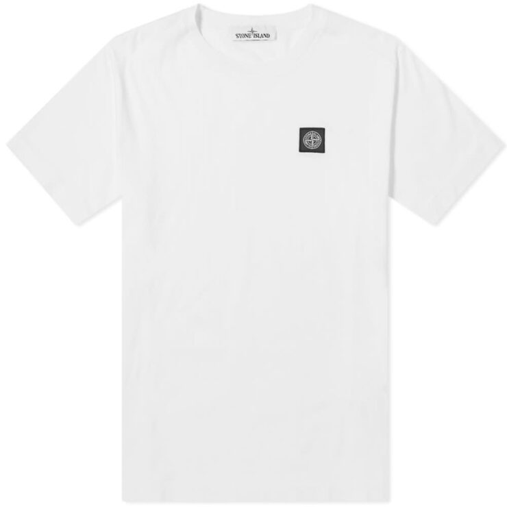 Stone Island Patch Logo T-Shirt 'White'