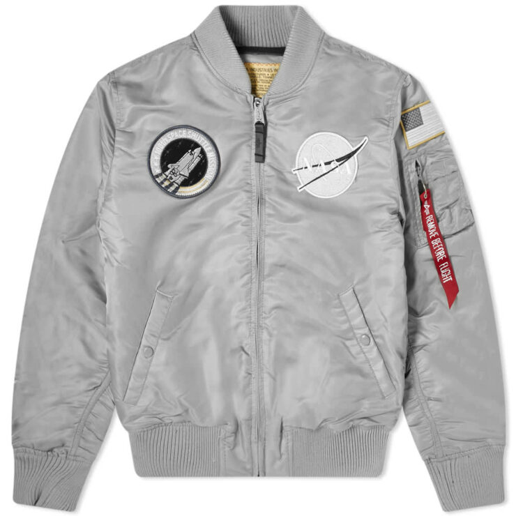 Alpha Industries MA-1 VF Nasa Jacket 'Silver'