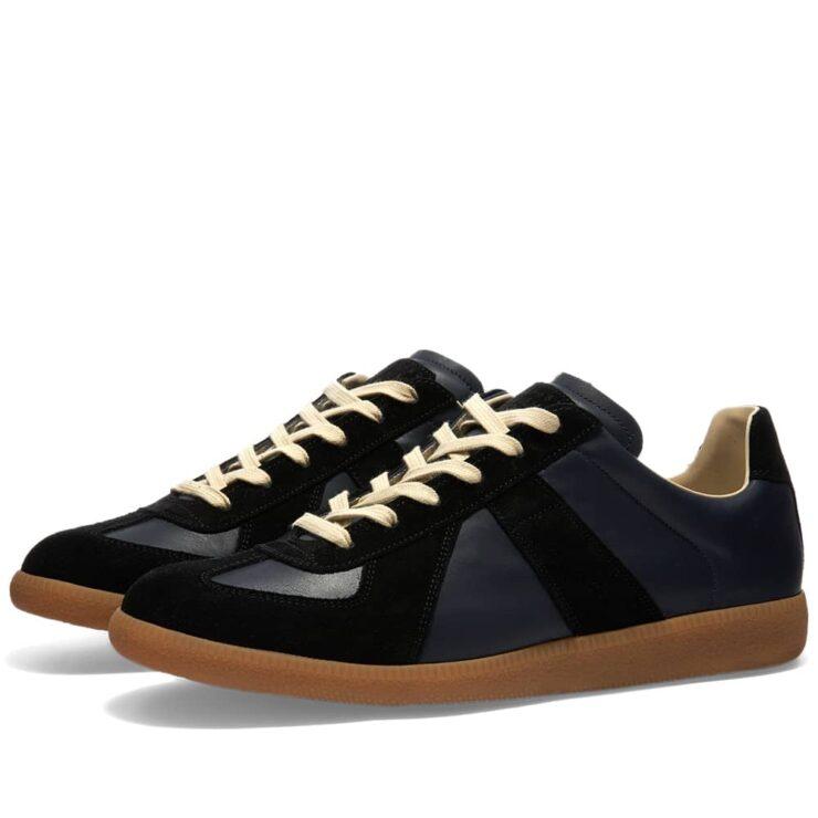 Maison Margiela 22 Classic Replica Sneakers 'Navy & Black'