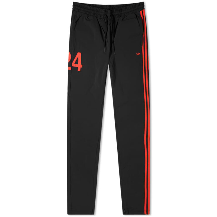 Adidas x 424 Trackpants 'Black & Red'