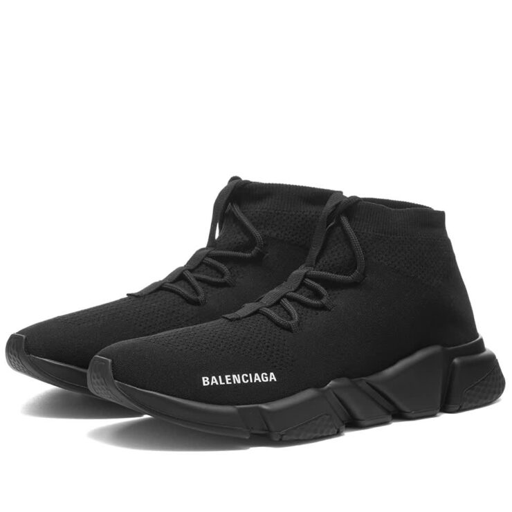 Balenciaga Speed Lace-Up Sneakers 'Black'