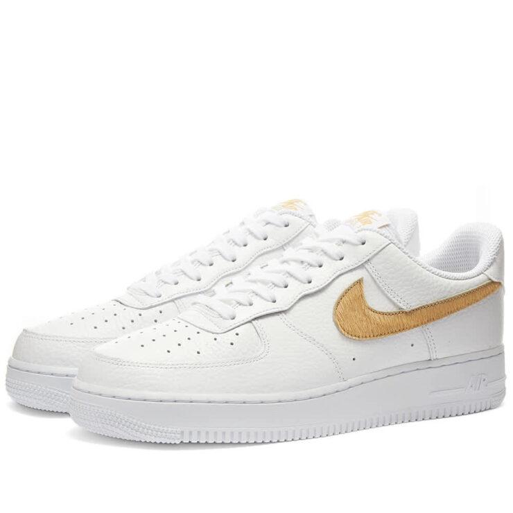 Nike Air Force 1 Gel 'White & Club Gold'