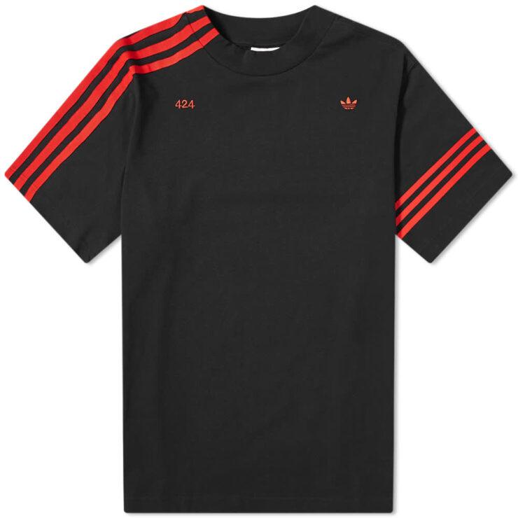 Adidas x 424 Vocal T-Shirt 'Black & Red'